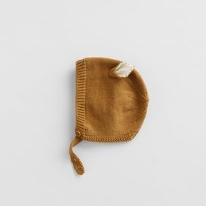 NWT 3-6 month Zara bonnet with ears